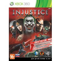 Injustice: Gods Among Us Soviet Edition (Xbox 360) Русские суб..