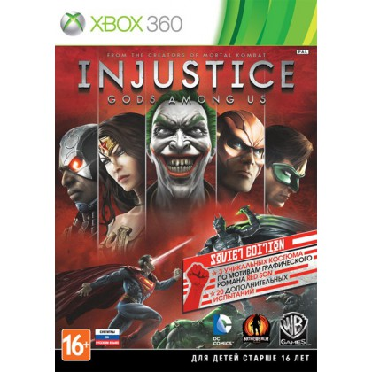 Injustice: Gods Among Us Soviet Edition (Xbox 360) Русские субтитры