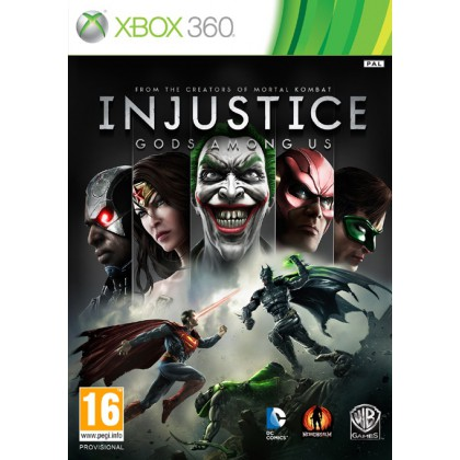 Injustice: Gods Among Us (Xbox 360) Русские субтитры
