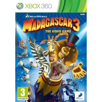 Мадагаскар 3 (Xbox 360) Русская версия