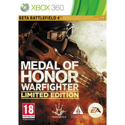 Medal of Honor: Warfighter Limited Edition (Xbox 360) Русская версия