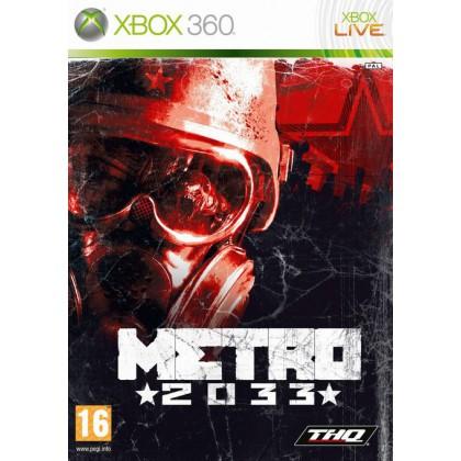 Metro 2033 (Xbox 360) Русская версия