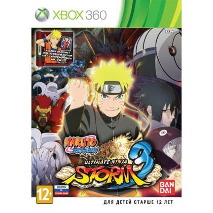 Naruto Shippuden: Ultimate Ninja Storm 3 (Xbox 360) Русские субтитры