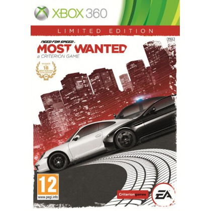 Need for Speed: Most Wanted Limited Edition (Xbox 360) Русская версия