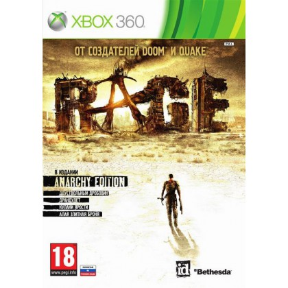 RAGE Anarchy Edition (Xbox 360) Русская версия