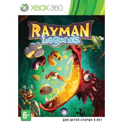 Rayman Legends (Xbox 360) Русская версия