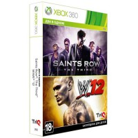 Saints Row: The Third + WWE 12 (Xbox 360)