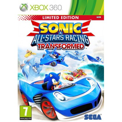 Sonic & All-Star Racing Transformed. Limited Edition (Xbox 360)