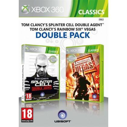 Splinter Cell Double Agent & Rainbow Six Vegas Double Pack (Xbox 360)