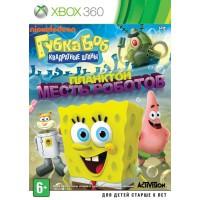 Губка Боб: Планктон Месть роботов (Xbox 360) Русская..