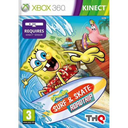 SpongeBob Surf & Skate Roadtrip (Xbox 360)