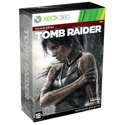 Tomb Raider Survival Edition (Xbox 360) Русская версия