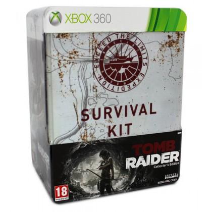 Tomb Raider Collectors Edition (Xbox 360) Русская версия