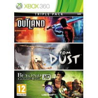 Outland, From Dust, Beyond Good & Evil HD 3в1 (Xbox 360)