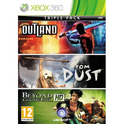 Triple Pack: Outland / From Dust / Beyond Good & Evil HD 3в1 (Xbox 360)