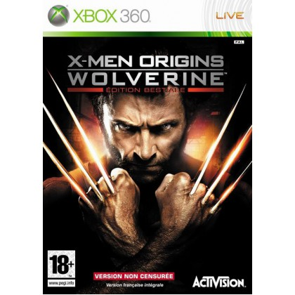 X-Men Origins: Wolverine Uncaged Edition (Xbox 360)
